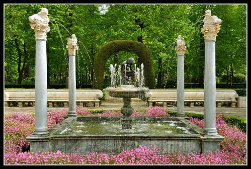 Aranjuez jardin de la isla fuente del espinario flickr for Jardin de la isla aranjuez