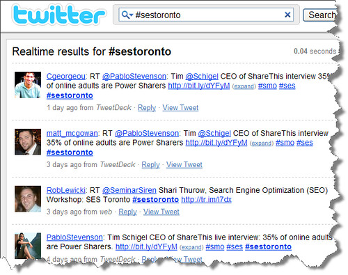 SES Toronto Twitter hashtag search results | Search ...