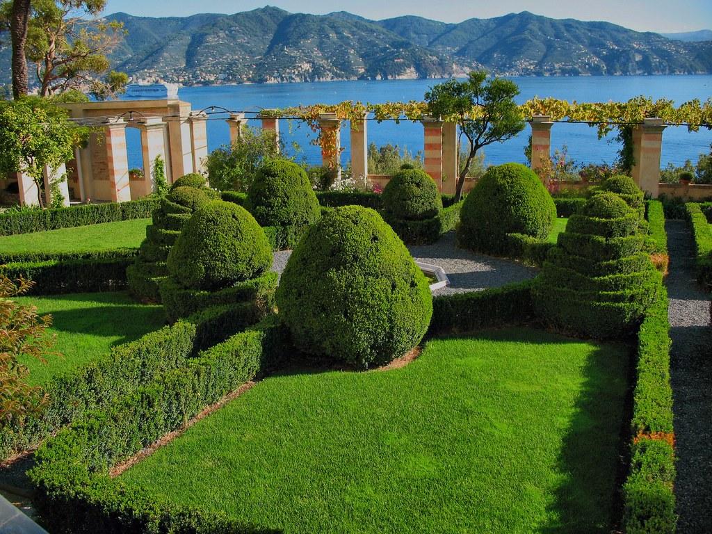Abbazia Di San Girolamo Della Cervara Garden What Was