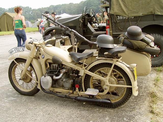 Bmw R12 Africa Korps Brunosaillard Flickr