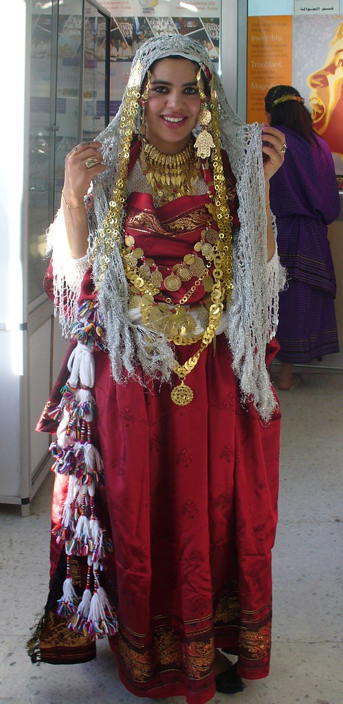 Traditional Costume Gabes Tunisia Hayyy Flickr