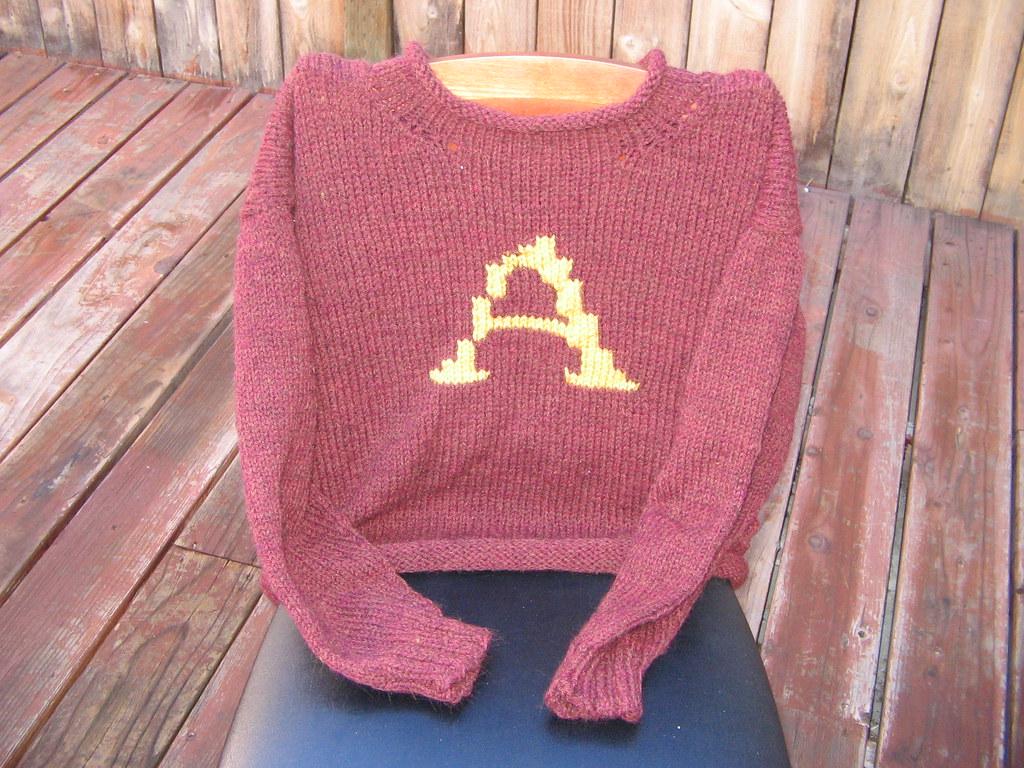 Aden\'s Weasley Sweater | The 3rd Weasley Sweater, done in th… | Flickr