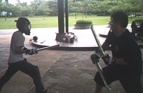 Haoyu w/ Katana vs Jereemy w/ Twin Wakizashi | by sgsparring