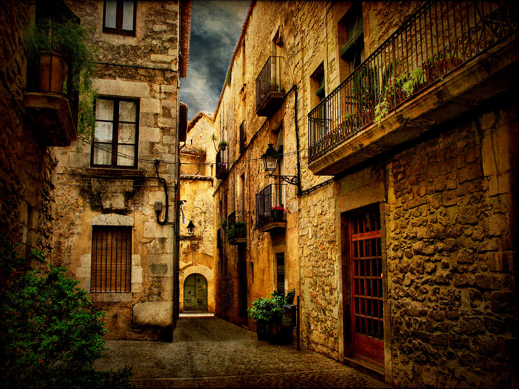 Streets Of Girona Xiii Another One Of A Series Of