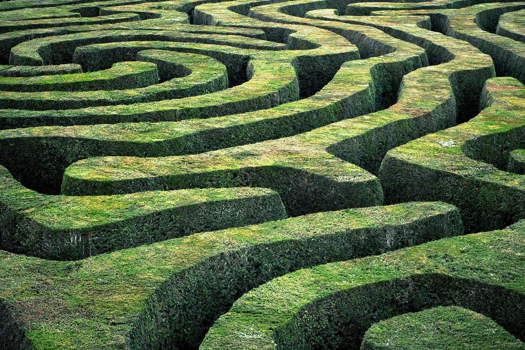 The Hedge Maze Reynirogtanja Flickr