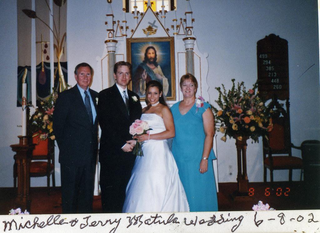 Michelle terry wedding