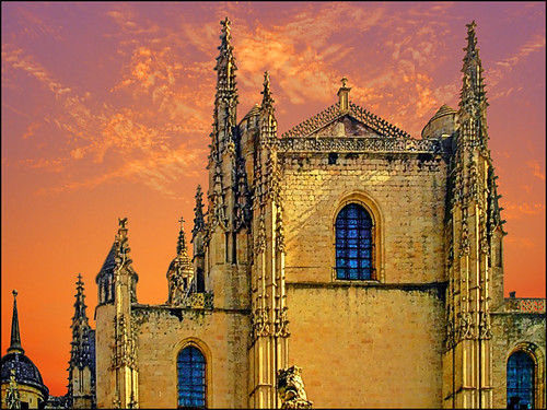 The Cathedral of Santiago de Compostela | by h_roach