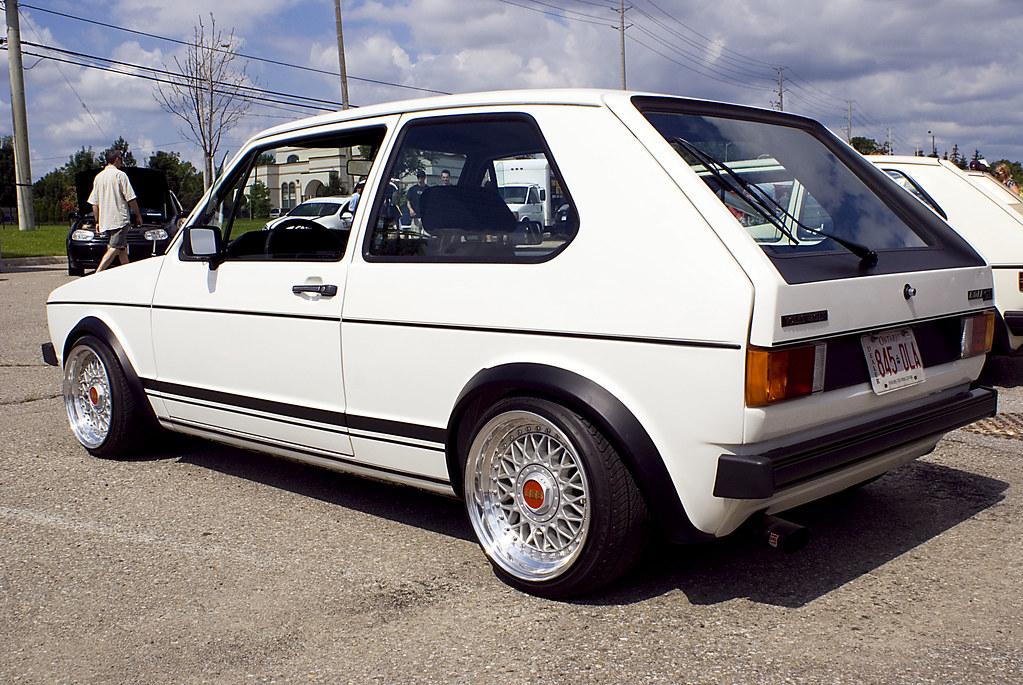 Vagkraft 2008 252 White Vw Rabbit Gti Mk1 Euro Flickr