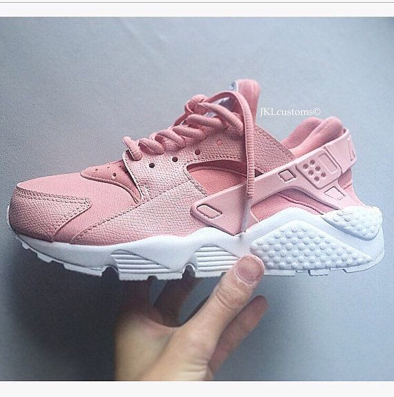 the latest 3e702 ae528 Tendance Basket Femme 2017- ROSA Nike Air Huarache Rosa Nike Huarache  Huarache par JKLcustoms…