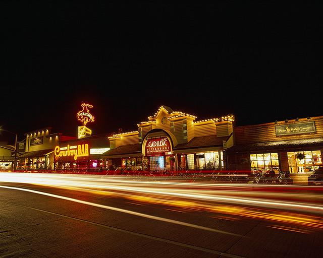 Jackson Hole Wyoming Town Square | Jackson Hole, Wyoming ...