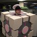 Me Wearing My Cube