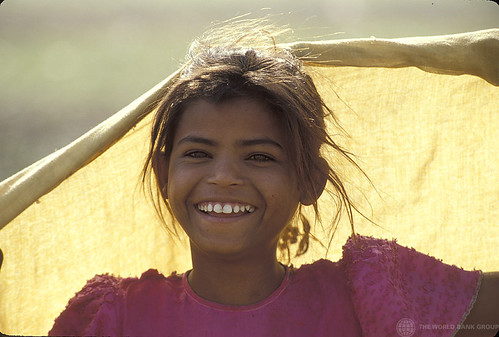 Portrait of smiling young girl. India | by World Bank Photo Collection