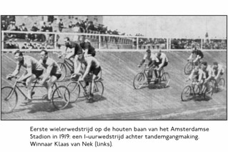 Racing Tracks in Amsterdam (2) 1919 | by letterlust