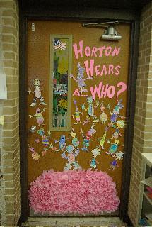Dr Seuss Birthday Door In Celebration Of Dr Seuss