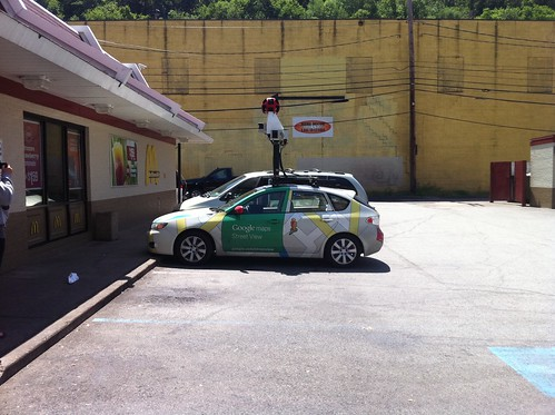 Google Street View car in Pittsburgh | by Flyinace2000