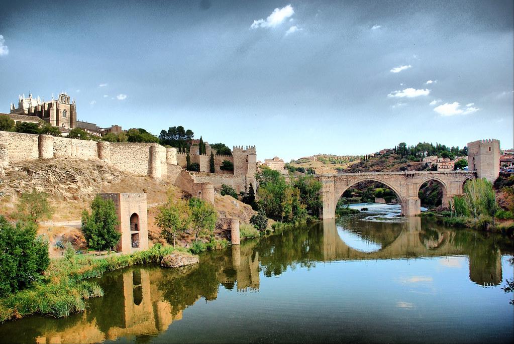 Puente San Martin Toledo Toledo Puente de San Martin y