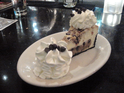 Chocolate Chip Cookie Dough Cheesecake From The