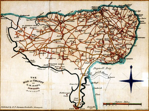 Old Map of Thanet | by Max Montagut