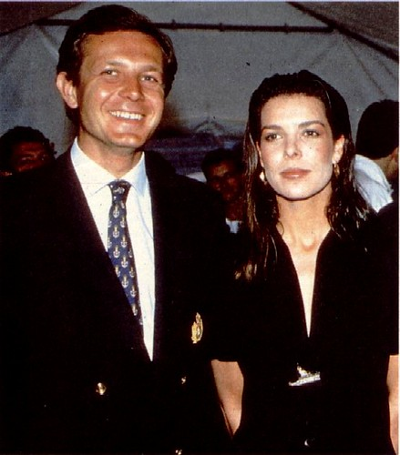 Stefano Casiraghi | Stefano Casiraghi with wife Princess ...