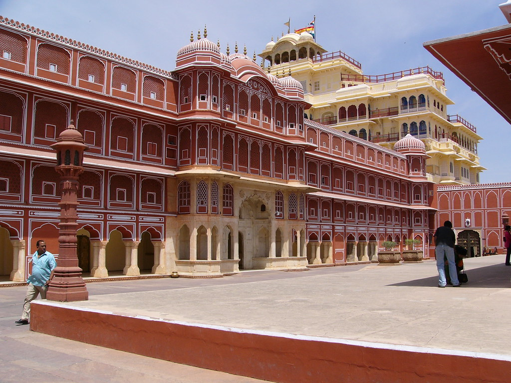 City Palace Jaipur Jaipur Is Known As The Pink City Not Di Flickr