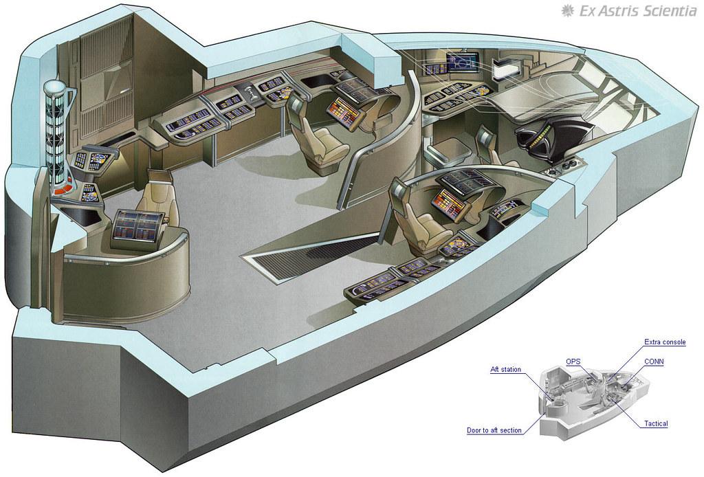Bridge deltaflyer 74656 bridge of the delta flyer from for Wohnung star trek design