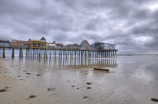 Old Orchard Beach pier, south side | by planemainiac