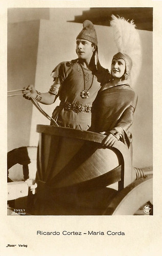 Maria Corda and Ricardo Cortez
