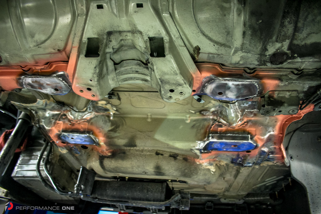 E46 M3 Subframe Reinforcement Repair Owners Of The Bmw 3 S Flickr