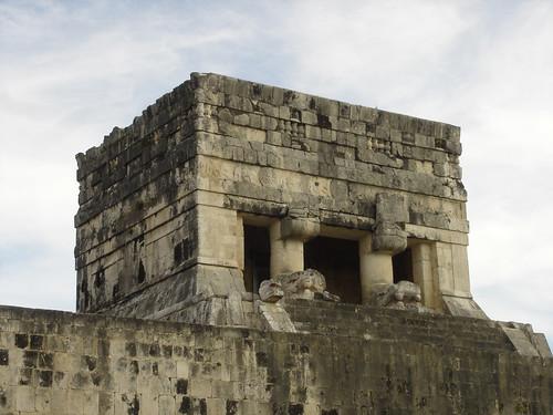 Templo Del Jaguar Parte Superior Del Templo Del Jaguar