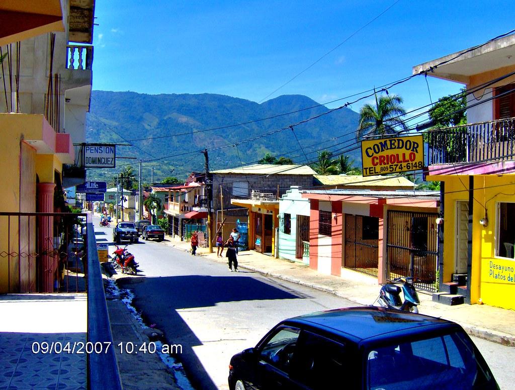 Calle de jarabacoa calles de jarabacoa la india del for Villas en jarabacoa
