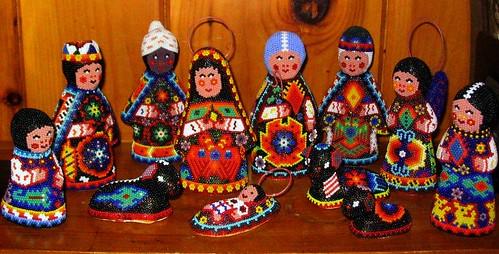 Huichol Nacimiento This Set Of Nativity Scene Figures