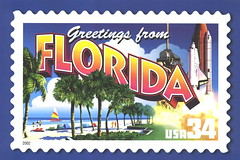 Greetings from America - Florida | by 9teen87's Postcards