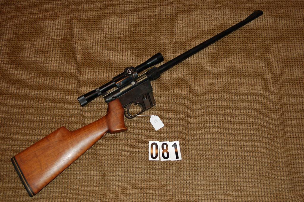 81 Armalite Quot Ar 7 Custom Quot 22 Lr Rifle 130 Smurf