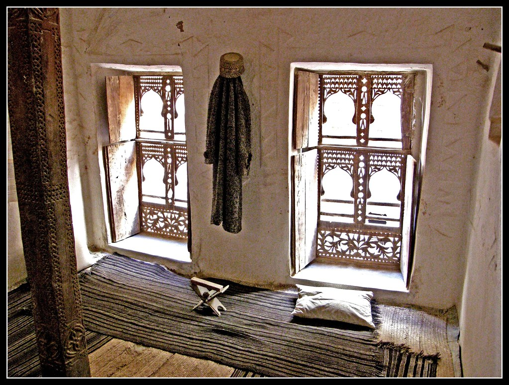 Inside A House In Shibam Yemen For A Small Fee We Are