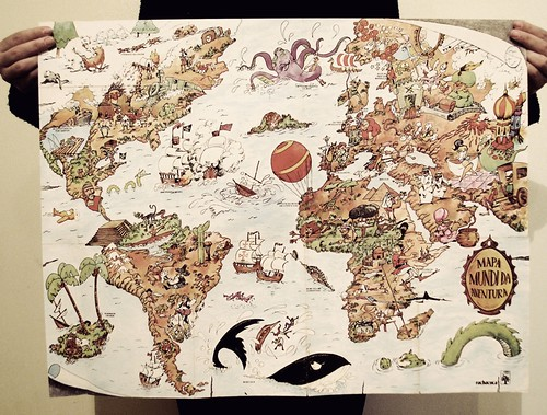 Adventure World Map | by Christian Sisson