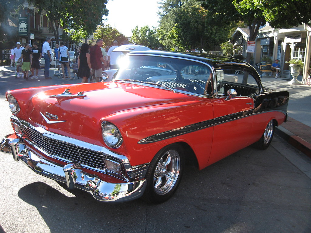 1956 Chevrolet Bel Air | Hot Summer Nights Car Show ...