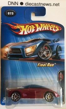 2005 Hot Wheels, Buick Wildcat, 2005 Final Run 3/5