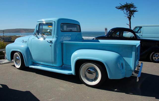 Baby blue truck | momboleum | Flickr