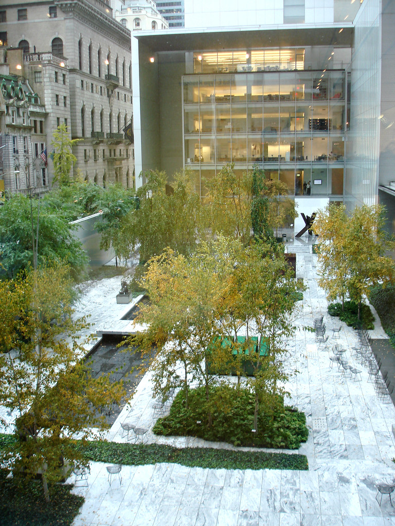 The abby aldrich rockefeller sculpture garden design by for Garden design jobs nyc
