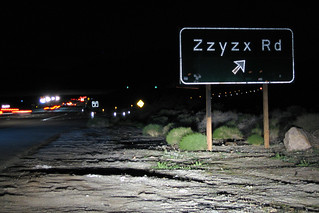 Zzyzx Road along the I-15 in California | by slworking2