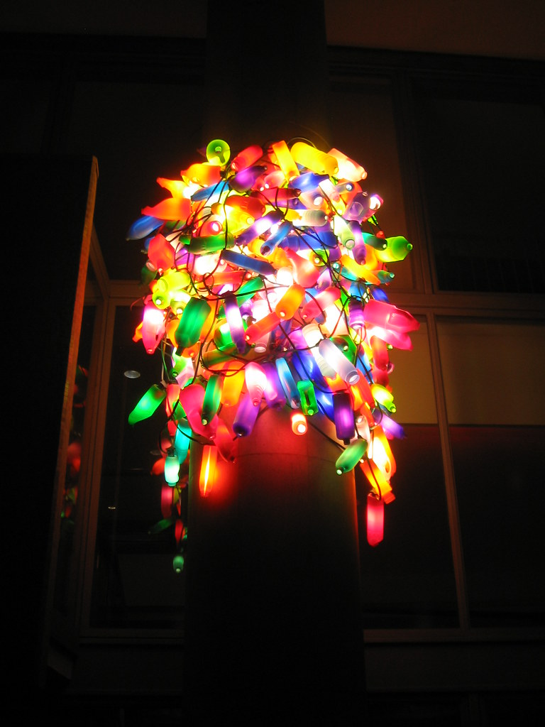 Recycled plastic bottle art crap screen name flickr - Plastic bottle recycled art ...
