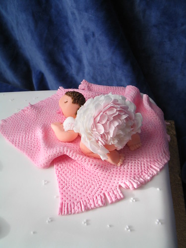 Eve's Christening cake topper | by the-icing-on-the-cake. (Jo)