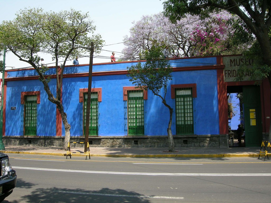 Frida Kahlo House Living Room