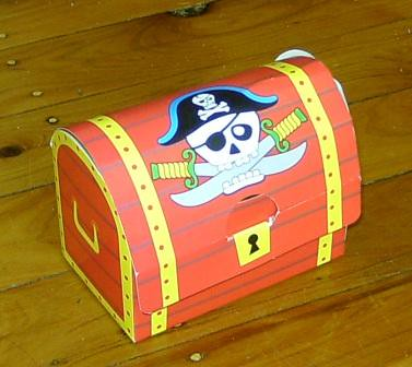 Pirate party loot treasure chest | Perfect for a pirate them… | Flickr