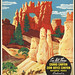 This summer - visit Bryce Canyon Nat'l. Park, Utah. Chicago and North Western Line