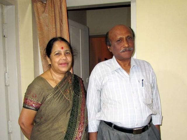 Gayatri Bhauja & Nityananda Bhai