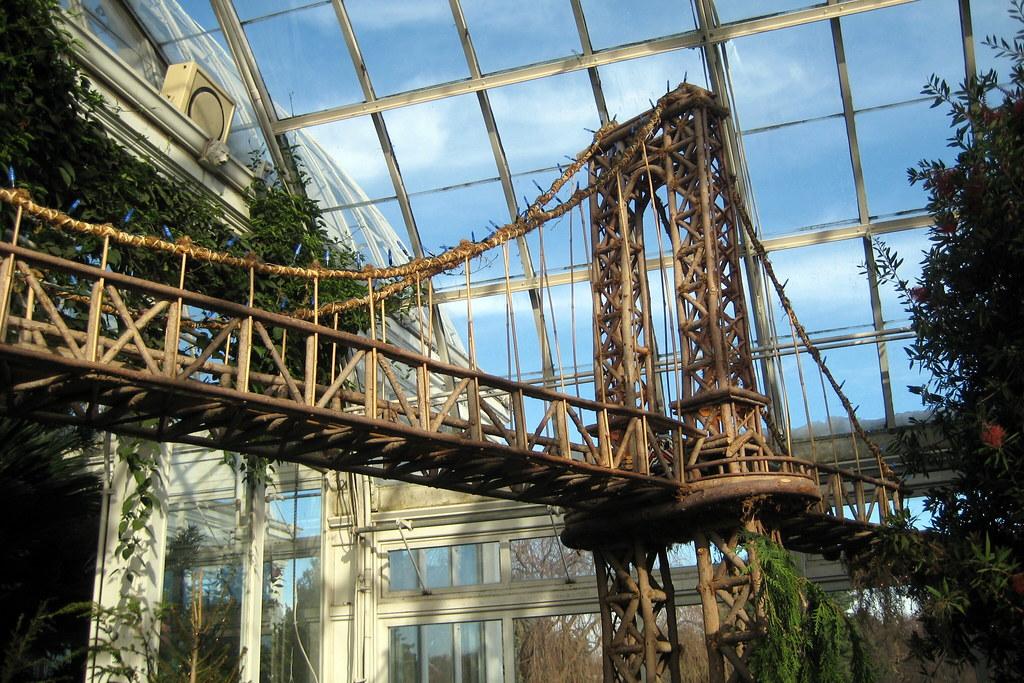 Etonnant ... NYC   Bronx   New York Botanical Garden   2007 Holiday Train Show    Manhattan Bridge