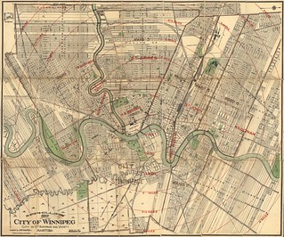 McPhillips' Map of the City of Winnipeg, City of St. Boniface and Vicinity, Manitoba (1910) | by Manitoba Historical Maps