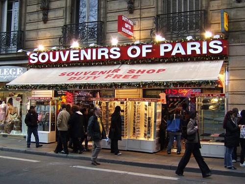 super tacky paris souvenir shop an incredibly tacky souven flickr. Black Bedroom Furniture Sets. Home Design Ideas