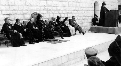 1975 Inauguration of the Alex and Marie Manoogian seminiary in Jerusalem | by agbu